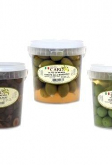Gruppo Caro Table olives