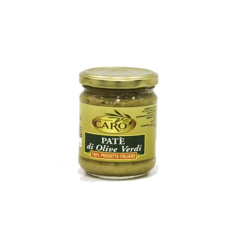 Green olives pate'